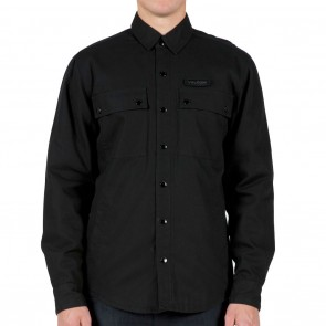 Volcom Grambler LS Mens Shirt - Black