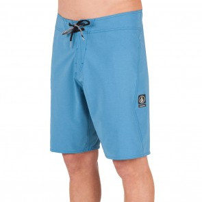Volcom Lido Solid Mod 20 Boardshorts - Deep Water