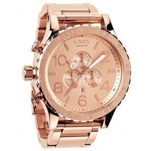 Nixon 51-30 Chrono All Rose Gold Watch-A083-897