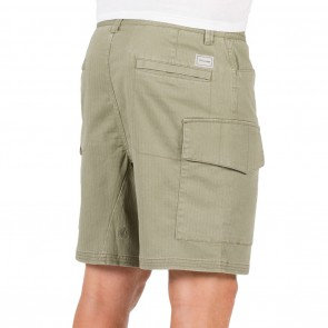 Volcom Base Cargo Shorts - Light Army