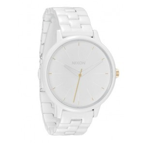 Nixon KENSINGTON All White Gold Watch-A099-1035