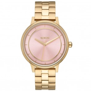 Nixon KENSINGTON Light Gold / Pink Watch
