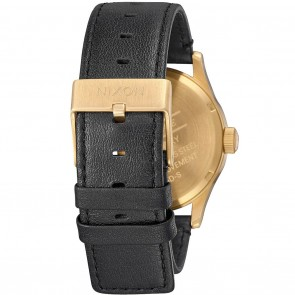 Nixon SENTRY LEATHER All Gold / Black Watch