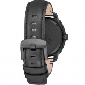 Nixon CHARGER LEATHER All Black Watch