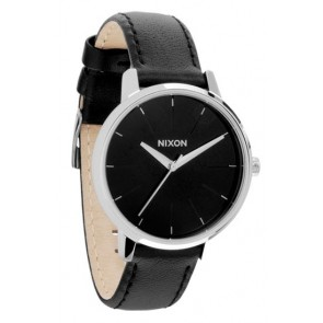 Nixon KENSINGTON Leather Black Watch-A108-000