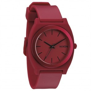 Nixon TIME TELLER Plastic Dark Red Ano Watch-A119-1298