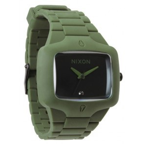 Nixon RUBBER PLAYER Matte Black with  Surplus Watch-A139-1042