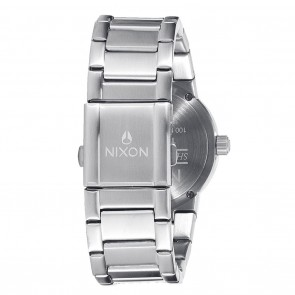 Nixon CANNON Grey with Rose Gold Watch