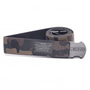 Arcade The Sierra Camo Belt - Black / Grey