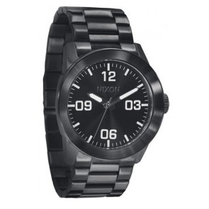 Nixon PRIVATE SS All Black Watch-A276-001