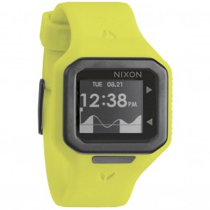 Nixon SUPERTIDE Neon Yellow Watch