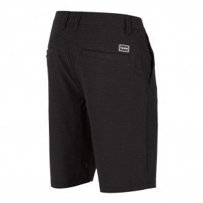Volcom Surf N' Turf Frickin Static Hybrid Shorts - Black Out