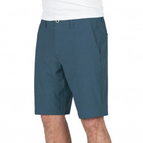 Volcom Surf N' Turf Frickin Static Hybrid Shorts - Deep Water
