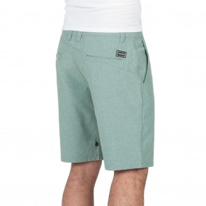 Volcom Surf N' Turf Frickin Static Hybrid Shorts - Sea Green