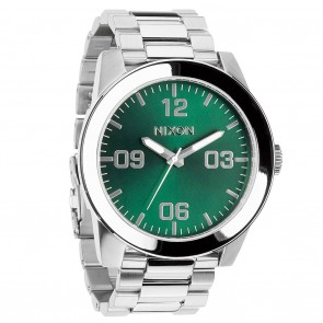 Nixon CORPORAL SS Green / Sunray Watch