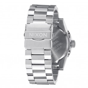Nixon CORPORAL SS Grey with Rose Gold Watch