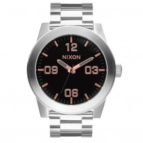 Nixon Corporal SS Grey / Rose Gold Watch