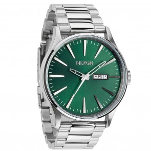 Nixon SENTRY SS Green with Sunray Watch