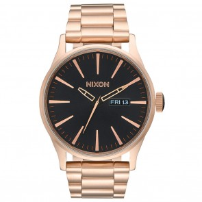Nixon SENTRY SS All Rose Gold / Black Watch