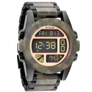 Nixon UNIT SS Black / Camo Watch