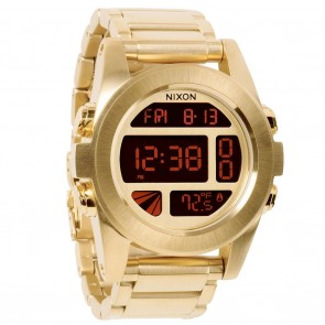 Nixon UNIT SS All Gold Watch