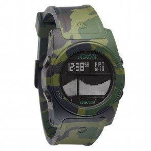 Nixon RHYTHM Green Camo Watch