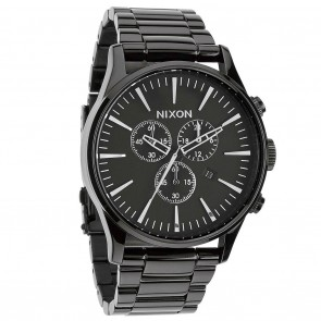 Nixon SENTRY Chrono All Black Watch