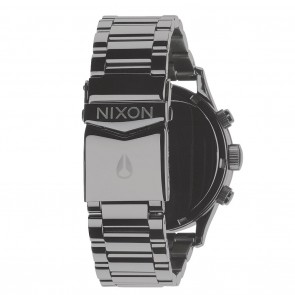 Nixon SENTRY Chrono Polished Gunmetal with Lum Watch