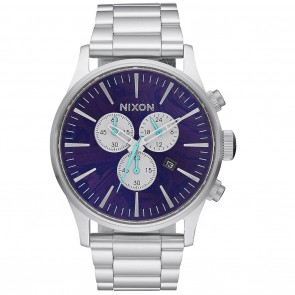 Nixon SENTRY Chrono Watch - Purple