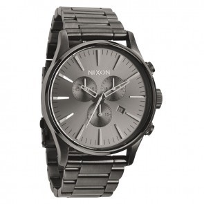 Nixon SENTRY Chrono All Gunmetal Watch-A386-632