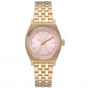 Nixon SMALL TIME TELLER Light Gold / Pink Watch