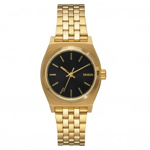 Nixon SMALL TIME TELLER Watch - Gold / Black