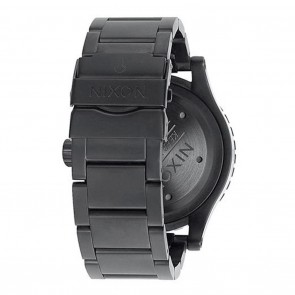 Nixon 48-20 Chrono Black / White / Black Watch
