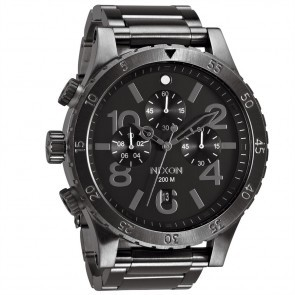Nixon 48-20 Chrono All Gunmetal Watch-A486-632