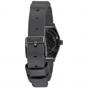 Nixon SMALL TIME TELLER SW Leather Vader Black Watch