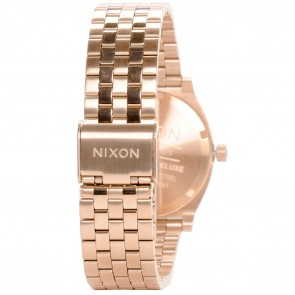 Nixon TIME TELLER Deluxe All Rose Gold Watch
