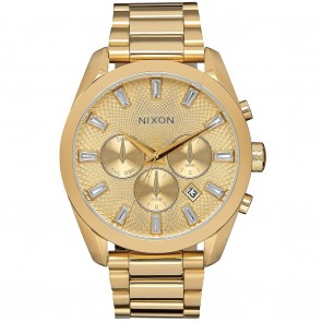 Nixon BULLET CHRONO CRYSTAL All Gold Watch