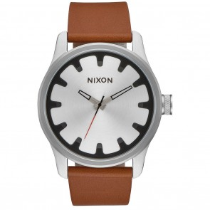 Nixon DRIVER LEATHER Black / Brown Watch