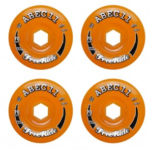 Abec 11 Stone Ground Classic Freerides 70mm / 81a  Longboard Wheels