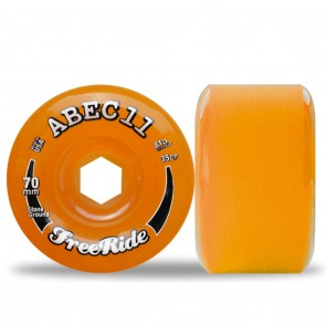 Abec 11 Stone Ground Classic Freerides 70mm Longboard Wheels - Durometer 81A