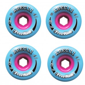 Abec 11 Stone Ground Classic Freerides 70mm 84a  Longboard Wheels