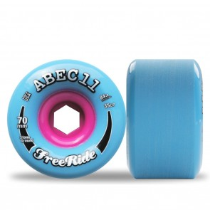 Abec 11 Stone Ground Classic Freerides 70mm Longboard Wheels - Durometer 84A