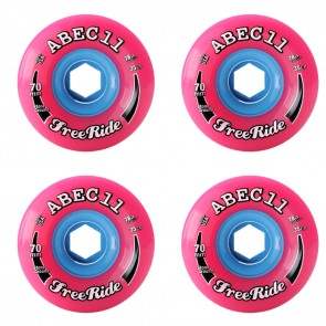 Abec 11 Stone Ground Classic Freerides 70mm 78A  Longboard Wheels