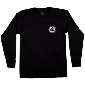 Welcome Adaptation Mens L/S Shirt Black - Front