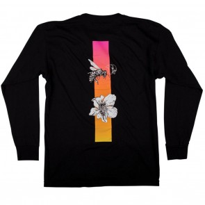 Welcome Adaptation Mens L/S Shirt - Black
