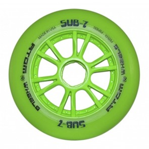 Atom SUB 7 iQ INDOOR Inline Race Wheels  - 110mm X-Firm