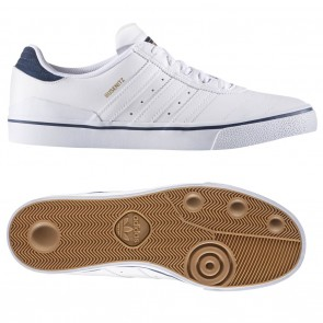 Adidas Busenitz Vulc Adv White / Collegiate Navy Skate Shoes