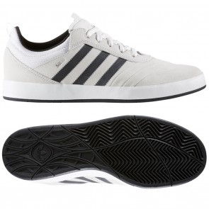 Adidas Suciu ADV White / Black / Silver Skate Shoes