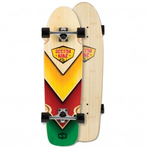 "Sector 9 Bamboozler (31.5"" x 8.5"") Longboard Complete"