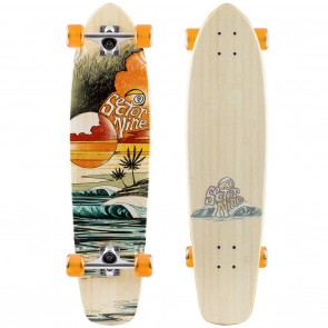 """Sector 9 Strand 16 Bamboo (34"""" x 8.35"""") Longboard Complete"""